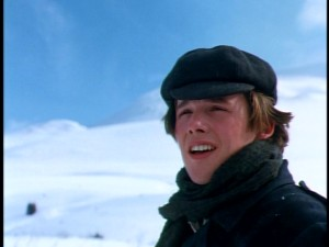 "In ""White Fang"", Ethan Hawke, 19 years old during production, stars as Jack Conroy, a young American man at the Klondike Gold Rush."