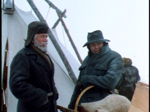 Skunker (Seymour Cassel) and Alex (Klaus Maria Brandauer) may not be the easiest two men to get along with, but they're all the company Jack has in braving the treacherous Yukon Territory.