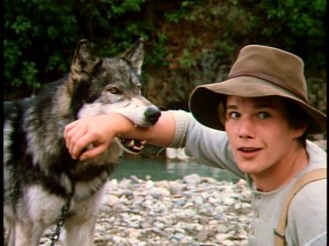"For having his forearm inside of a dog's mouth (a dog whose name includes ""Fang"", no less), Ethan Hawke seems pretty serene."
