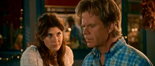 Maggie (Marisa Tomei) is the Madrid waitress who takes to Dudley (William H. Macy), the most comic of the movie's comic reliefs.