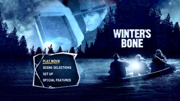 Sheriff Baskin (Garret Dillahunt) assumes a lunar presence on the DVD's main menu montage.