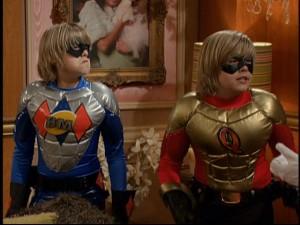More than mere kids, Cody (Cole Sprouse) and Zack Martin (Dylan Sprouse) are powerful superheroes after their wish comes true.