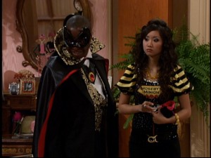 Diversity-minded casting backfires on Disney Channel when they have to make a black guy the villain (Moseby a.k.a. Mean-ager, played by Phill Lewis).