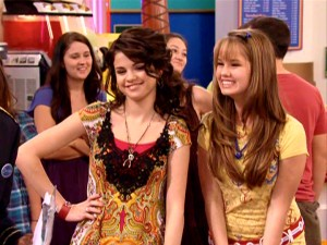 "Alex Russo (Selena Gomez) and Bailey Pickett (Debby Ryan) become friends and allies. That's the magic of Disney Channel crossovers mined in ""Wizards on Deck with Hannah Montana."""
