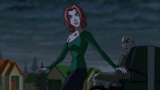 "In a bit that looks and feels like Christopher Nolan's ""Inception"", Jean Grey joins Professor Xavier in a grayed suburban world where it's hoped the Phoenix Force will be summoned."