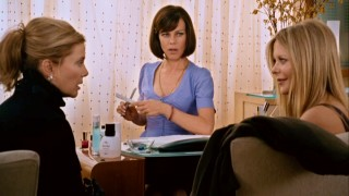 Gossipy manicurist Tanya (Debi Mazar) is all ears as Sylvie (Annette Bening) and Mary (Meg Ryan) spill some orchestrated dirt.