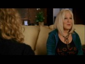 Bette Midler's character Leah Miller shares some marijuana-fueled wisdom in an extended version of her little cameo.