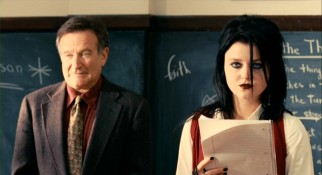 Mr. Clayton (Robin Williams) finds his poetry elective more popular than ever, after his son's death is taken to heart by students like goth girl Heather (Lorraine Nicholson).
