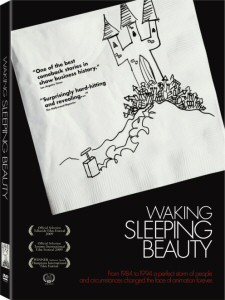 Waking Sleeping Beauty DVD cover art