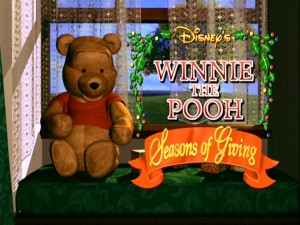 "With the 1990s coming to a close, Disney wisely saw computer animation as the future. Fortunately, the future has been easier on the eyes than this ""Winnie the Pooh: Seasons of Giving"" opening title scene is."
