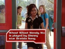 Whoo whoo! It's the Six Degrees of Brenda Song!