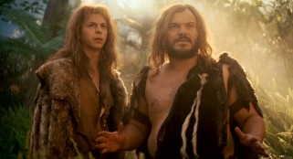 "Oh (Michael Cera) and Zed (Jack Black) are outcast cavemen in the 2009 comedy film ""Year One."""