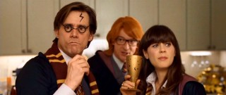 Though some may question Warner's motives with its own movies celebrated, Norman's Harry Potter costume party is one of the film's more inspired sequences.