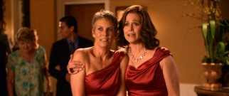 High school besties turned enemies, the groom's mother (Jamie Lee Curtis) and the bride's aunt (Sigourney Weaver) try to remain friendly while unexpectedly wearing the same dress to the rehearsal dinner.