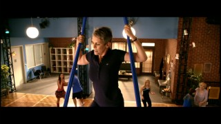 Jamie Lee Curtis rides the silk in this deleted scene, one of three to make the DVD.