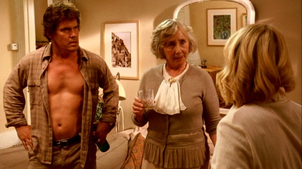 To the unbuttoned displeasure of Roy (Josh Brolin), his mother-in-law Helena (Gemma Jones) is wont to pop over unannounced for a drink.