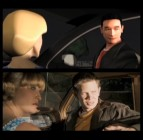 Three Previsualization animatics illustrate how carefully planned the killing scenes were. Here, Ciara Hughes and Lee Norris appear under their less emotive CGI renderings.