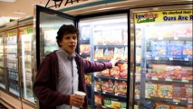 "Jesse Eisenberg shows us that the frozen food aisle is not as it appears in ""Zombieland Is Your Land."""