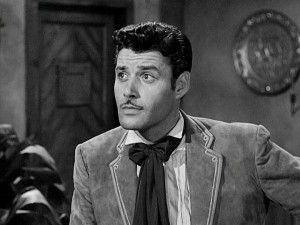 Don Diego de la Vega (Guy Williams) is just a peaceful intellectual...
