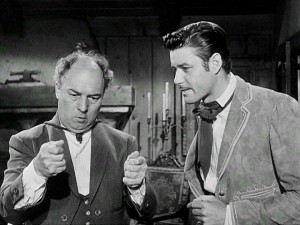 Gene Sheldon, an actor who specialized in pantomime, was a natural choice for the role of Bernardo, the mute manservant who uses gestures to communicate with Zorro and pretends he's deaf to everyone else.
