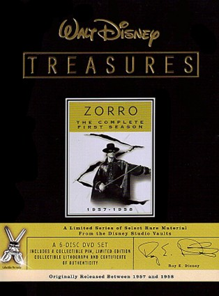 Buy Walt Disney Treasures: Zorro - The Complete First Season on DVD from Amazon.com