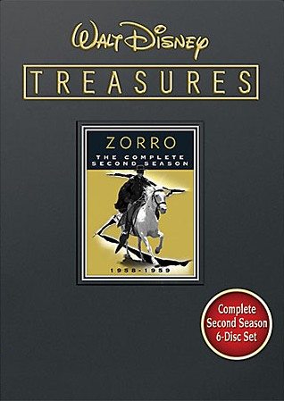 Buy Walt Disney Treasures: Zorro - The Complete Second Season on DVD from Amazon.com