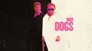 "War Dogs' Blu-ray menu, like the poster and cover art, emulates the original ""Scarface"" one-sheet."