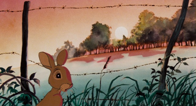 "In ""Watership Down"", the rabbit Fiver foresees bad danger coming to his warren."