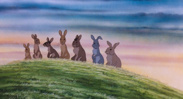 "Danger lurks all around rabbits in ""Watership Down."""