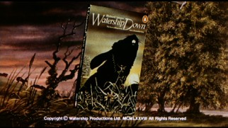 Watership Down's theatrical trailer makes multiple mentions of the best-selling book on which the movie is based.