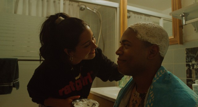"The first half of Trey Edwards Shults' ""Waves"" centers on Tyler (Kelvin Harrison, Jr.), whose senior year of high school does not play out as expected for he and his girlfriend Alexis (Alexa Demie)."