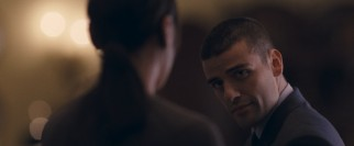 Russian security guard Evgeni (Oscar Isaac) takes special notice of Wally and not as a potential risk.