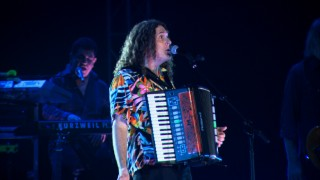 Weird Al Yankovic makes use of an accordion in performances cut from the special but preserved as Blu-ray bonus features.
