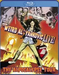 """Weird Al"" Yankovic Live!: The Alpocalypse Tour (2011) Blu-ray cover art -- click to buy from Amazon.com"