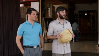 Brothers Rich (James Marsden) and Gabe Ruskin (Wes Bentley) have different levels of comfort with putting Alice on the air.