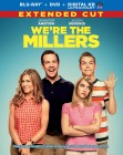 We're the Millers: Extended Cut Blu-ray + DVD + UltraViolet combo pack cover art -- click for press release