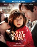 What Maisie Knew: Blu-ray Disc + DVD combo pack cover art -- click to buy from Amazon.com