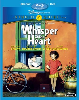 Whisper of the Heart Blu-ray + DVD cover art -- click to buy from Amazon.com