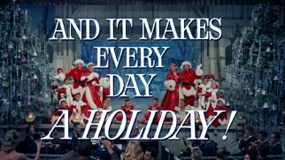 """White Christmas"" makes every day a holiday, or so claims its theatrical rerelease trailer."