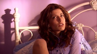 Helen (Tania Raymonde) tries pleasuring herself with a device that connects to an iPod in scenes sure to embarrass the actress sooner or later.