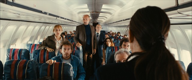 "Passengers on a plane figure out what they all have in common in the prologue of ""Wild Tales."""