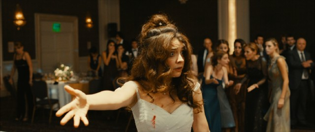"Romina (Érica Rivas) is driven into a blind rage at her wedding in the final segment of ""Wild Tales."""