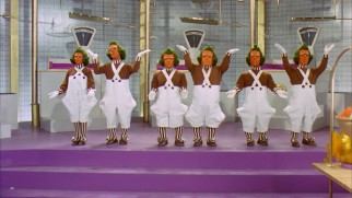 Willy Wonka's chief employees are the Oompa Loompas, these industrious little people Wonka rescued from Whangdoodle persecution in their native Loompa Land.
