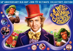 Willy Wonka & the Chocolate Factory: 40th Anniversary Blu-ray + DVD Ultimate Collector's Edition box art -- click to buy from Amazon.com