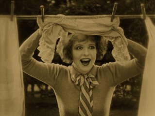 Beauty-marked silent starlet Clara Bow, the newly-proclaimed original It Girl, claims top billing in the role of girl next door Mary Preston.