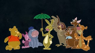 "The Hundred Acre Wood gang gets a chalky, colorful makeover in Owl's fear-instilling ""The Backson Song."""