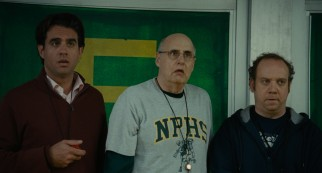 Assistant coaches (Bobby Cannavale, Jeffrey Tambor) and Mike (Paul Giamatti) find the fate of New Providence High School's wrestling team lifted on the strengths of one boy.
