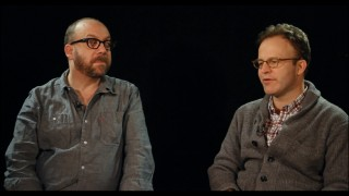 "A bald, bearded Paul Giamatti and clean-shaven Tom McCarthy (who you might recognize as Dr. Bob, a.k.a. Bob... M.D. from ""Meet the Parents"") talk ""Win Win"" in this brief featurette."