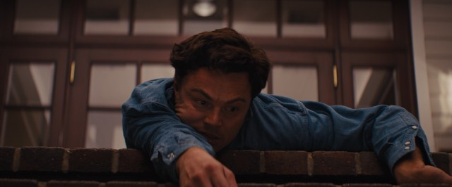 Leonardo DiCaprio does not hold back in his performance as Jordan Belfort, committing to a Quaalude-fueled crawl down country club steps.