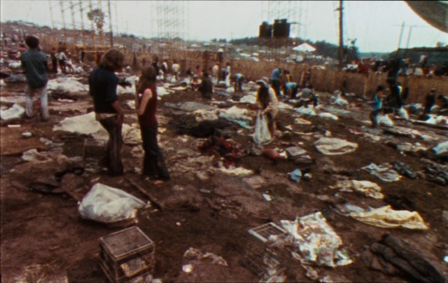 Woodstock left a little bit of a muddy mess on the Bethel, New York farm where history was made.